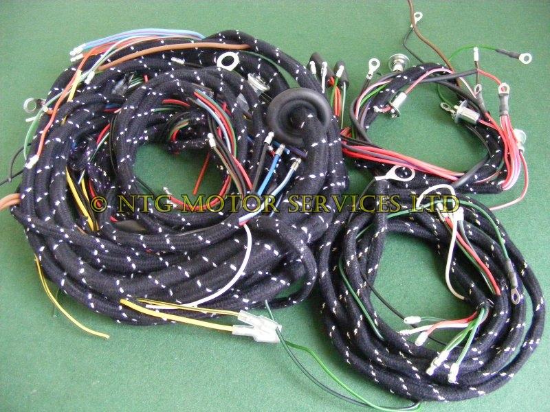 L021 Wiring Loom Braided