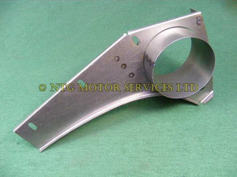 Air Duct Supports : Bracket air duct radiator support lh t bl required qty